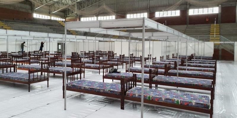 Ginásio Sesi - Hospital de Campanha