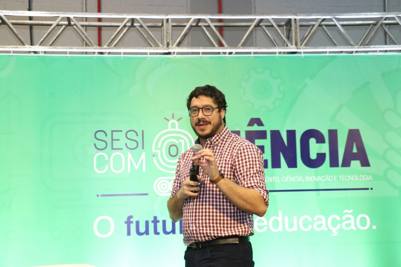 Sesi com@Ciência - Leandro Holanda